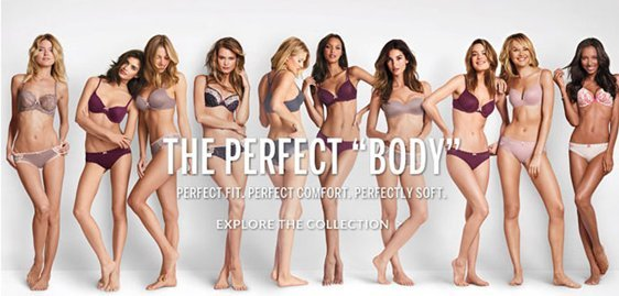 victoria's secret the perfect body