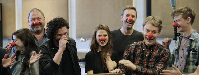 Il cast di Game of Thrones per il Red Nose Day