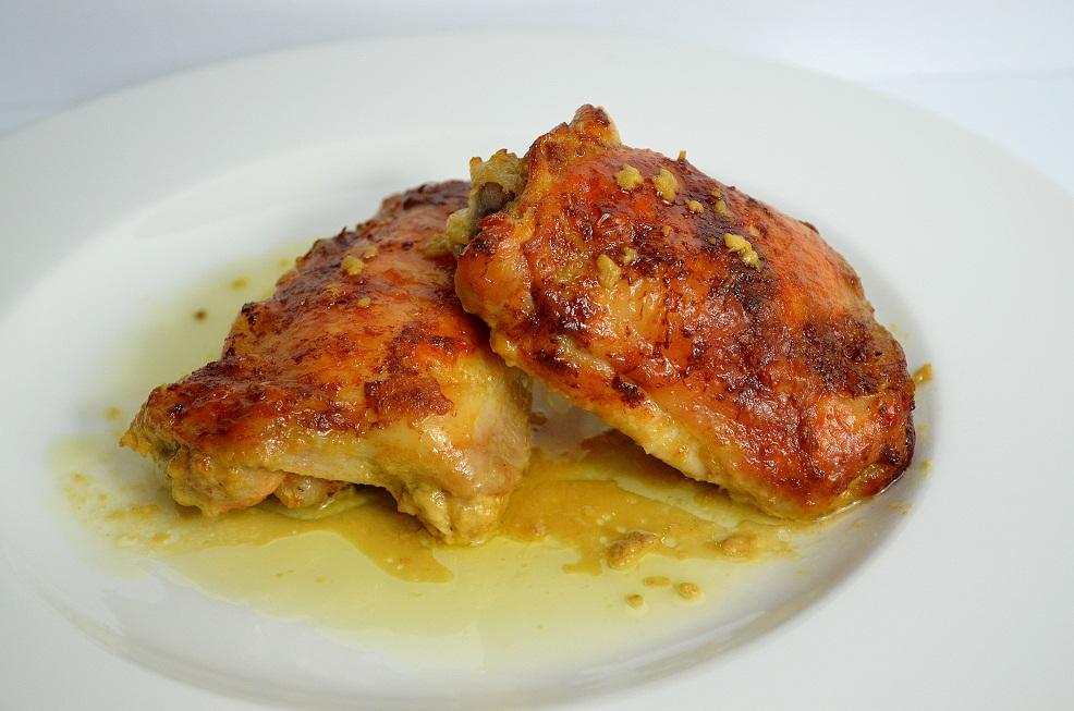 Sovracosce di Pollo Marinate alla Senape