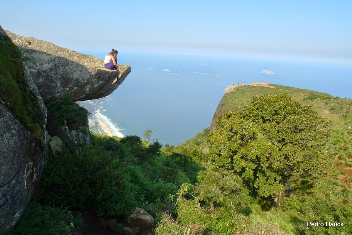 Pedra da Gavea, il posto più spaventoso del mondo.