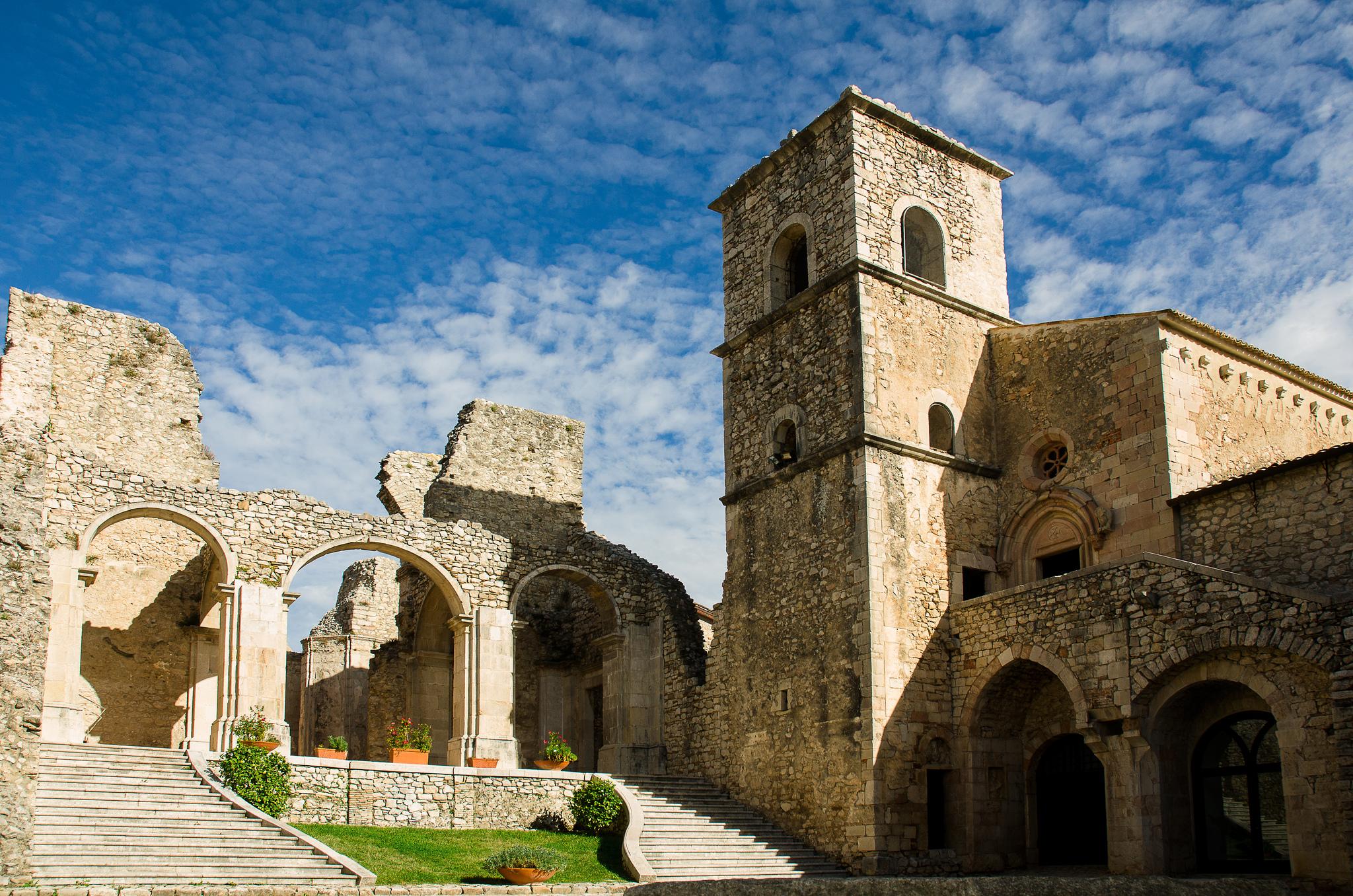 Un gioiello nell'Irpinia: l'abbazia del Goleto