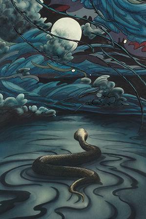 La luna e il serpente