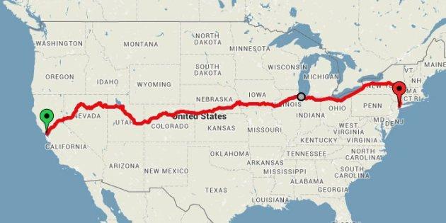 Il miglior itinerario per visitare gli Stati Uniti (a meno di 200 euro)