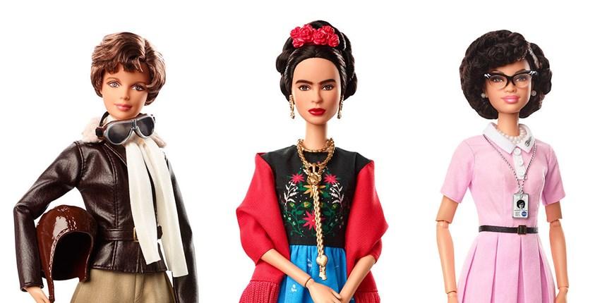 """""""Shero"""", le nuove Barbie ispirate alle donne più influenti di ieri e oggi"""